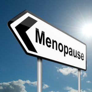 "Traffic Sign Pointing To The ""Menopause"""